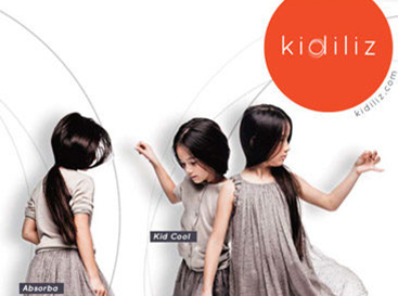 Graphiste freelance, création identité de marque Kidiliz