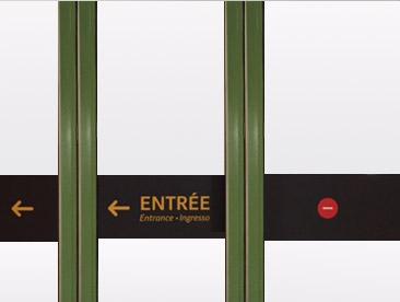 Création signaletique SNCF gare de Lyon